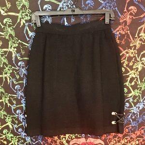 DESIGNER St. John Knit Mini Skirt
